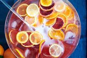 Рецепт на Новый год: цитрусовый пунш от Марты Стюарт