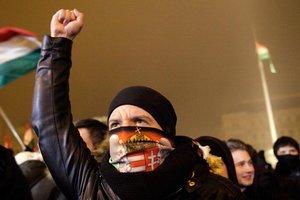 """Протесты в Будапеште: венгры требуют отменить """"рабские"""" законы"""