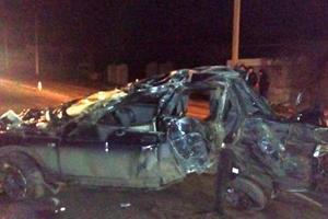 Страшное ДТП в Запорожской области: легковушка влетела в столб, двое погибших