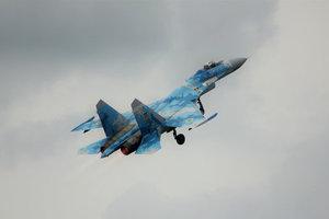 Крушение Су-27: спасатели направились к месту катастрофы