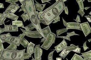 В США из инкассаторской машины высыпались тысячи долларов: видео