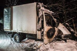 В Киеве мужчина заживо сгорел в автомобиле (фото)