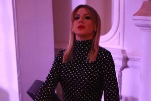 Роковая женщина: Леся Никитюк надела платье со сногсшибательным разрезом