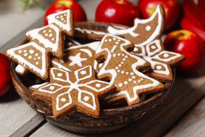 Как приготовить имбирные пряники на Новый год и Рождество