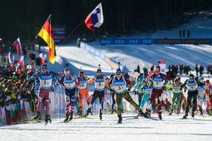 Швеция стала лучшей в мужской эстафете на Кубке мира, Украина вошла в топ-20