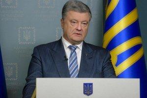 Порошенко: Мне стыдно, что подал необоснованные надежды о сроках окончания войны на Донбассе