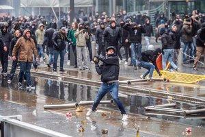 В Брюсселе - протест против миграционного пакта ООН: около 5,5 тысяч человек прошли маршем