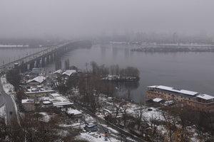 Погода в Киеве будет сухой и морозной