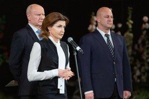 Черное и белое: классический образ Марины Порошенко