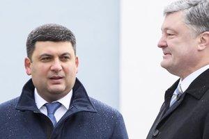 Порошенко и Гройсман поздравили украинцев с Днем Святого Николая