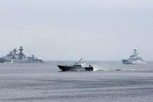 Захарова: Россия не наращивает военную мощь в Азовском море