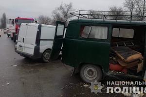 В Херсонской области полиция устанавливает обстоятельства смертельного ДТП: опубликованы фото