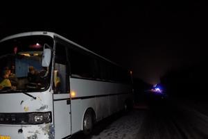 Под Винницей автобус насмерть сбил пешехода