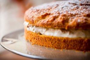Быстрый морковный торт со сметанным кремом