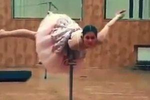 Двухголовая балерина напугала зрителей: видео