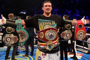 Александр Усик - лучший боксер мира по версии ESPN