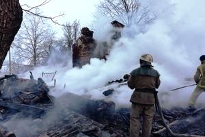 В Житомирской области пожар уничтожил жилой дом: два человека погибли