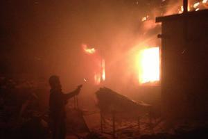В Кировоградской области вспыхнул жилой дом: погиб мужчина