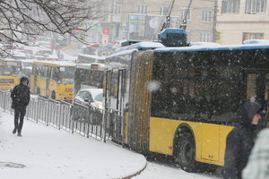Рождество в Киеве: изменятся схемы движения троллейбусов и автобусов