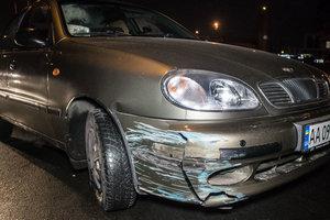 Пьяный водитель в Киеве устроил ДТП, пытаясь сбежать от полиции