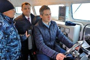 Министры обороны Украины и Британии вышли в море на боевом катере: опубликованы фото