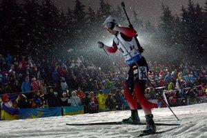 Вита Семеренко вошла в ТОП-10 в спринте на Кубке мира по биатлону
