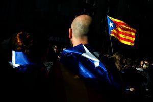 Протесты сепаратистов в Каталонии: красочные фото демонстраций попали в сеть