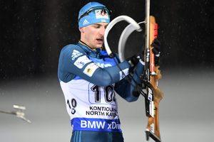 Украинец Пидручный стал шестым в гонке преследования на Кубке мира по биатлону