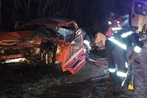 В Новомосковске произошло ДТП, погиб водитель легковушки