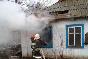 В Херсонской области пожар унес жизни двоих человек