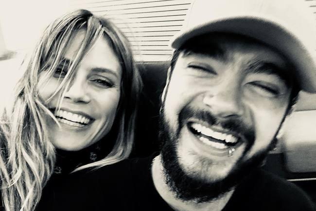 «Я передала да»: 45-летняя Хайди Клум выходит замуж