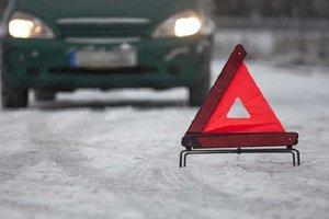 За сегодня в Киевской области произошло 100 ДТП