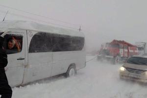 В Запорожье из-за непогоды отменили междугородные автобусные рейсы