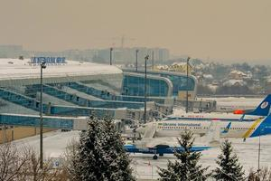 Во львовском аэропорту не принимают самолеты