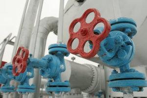 Запасы газа в Украине упали ниже прошлогоднего уровня
