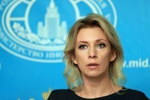 Захаров сделала заявление по русскому языку в Украине