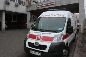 Мужчина посреди улицы в Киеве умер от сердечного приступа