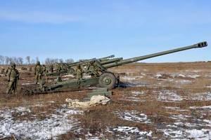 Десятки пушек и танки: ОБСЕ заметила большое скопление техники вблизи Луганска