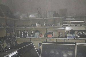 Пожар в Яготине: погиб хозяин магазина