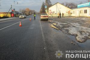 В Черновицкой области под колесами авто погибла женщина