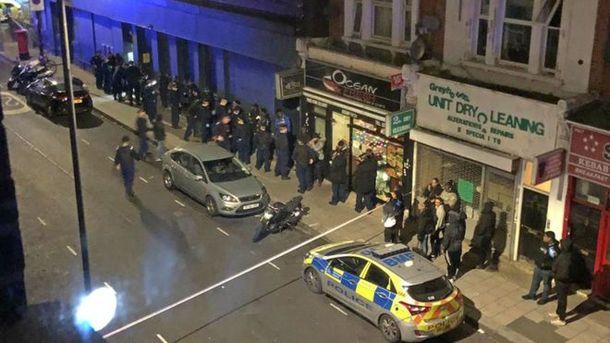 Встолице Англии копы задержали 39 человек, отказавшихся отсотрудничества