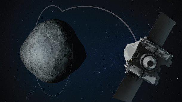 ВНовый год NASA вывело наорбиту астероида космический аппарат