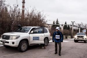 На Донбассе боевики не пустили наблюдателей ОБСЕ в семь населенных пунктов