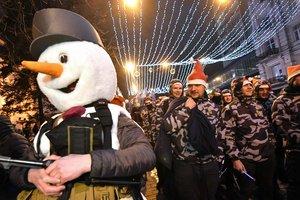 Факельные шествия в честь Бандеры в 19 регионах Украины прошли спокойно