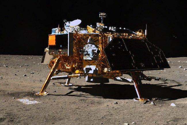 "На малоизученной стороне Луны совершил посадку китайский аппарат ""Чанъэ-4"" Фото: rumaniamilitary.ro"