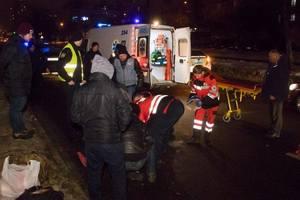 В больнице Киева умер пешеход, которого сбил пьяный водитель Maserati