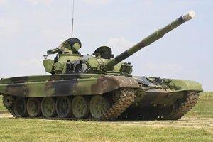 Боевики разместили танки на Луганском направлении