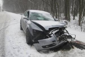 В Закарпатской области столкнулись две легковушки: есть пострадавшие