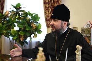 Митрополит Епифаний поздравил украинцев с Рождеством