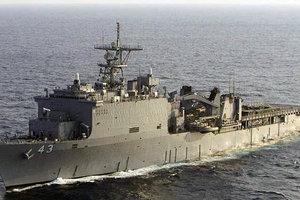 В Черное море вошел десантный корабль США